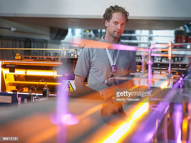 Fusion Reactor Scientist With Lasers