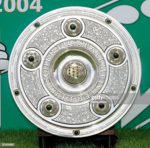 Fussball 1 Bundesliga 04/05 Bremen SV Werder Bremen die Meisterschale 280704