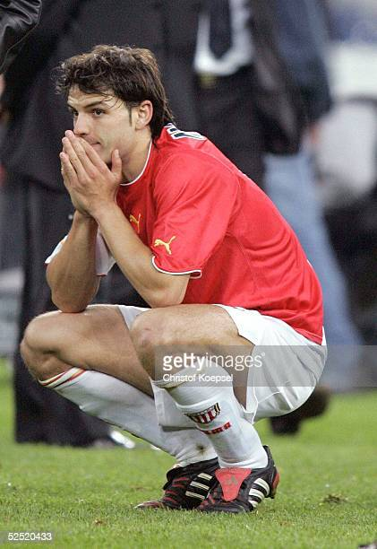 Fussball Champions League 03/04 Finale Gelsenkirchen FC Porto AS Monaco 30 Fernando MORIENTES / Monaco 260504