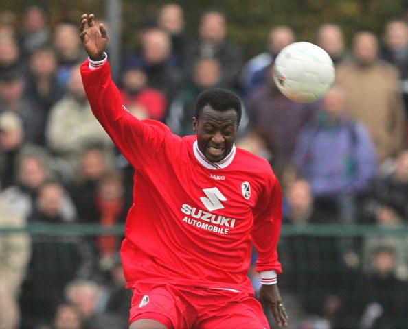 Fussball: DFB Pokal 04/05, SC Paderborn-SC Freiburg : News Photo