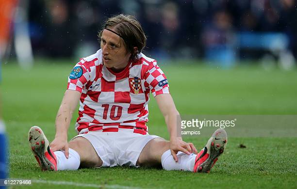 Luka Modric Croatia Kroatien Vorrunde Spiel 10 Gruppe Gruppe C Italien Kroatien 11 Fussball EM UEFA Euro Europameisterschaft 2012 Polen Ukraine Italy...