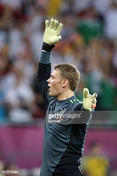 Manuel Neuer Deutschland Vorrunde Gruppe B Spiel 20 Dänemark Deutschland Denmark Germany 12 Fussball EM UEFA Euro Europameisterschaft 2012 Polen...