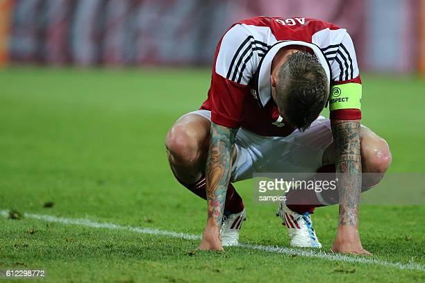 Daniel Agger mit tattoo Vorrunde Gruppe B Spiel 20 Dänemark Deutschland Denmark Germany 12 Fussball EM UEFA Euro Europameisterschaft 2012 Polen...