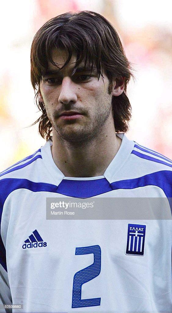 Fussball Euro 2004 in Portugal Vorrunde / Gruppe A / Spiel 9 Porto Griechenland Spanien 11 Georgios SEITARIDIS / GRE 160604