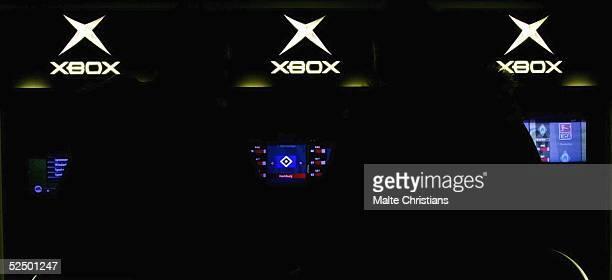 Fussball FIFA Interactive World Cup 2004 Hamburg XBox Logo mit HSV Logo 201104