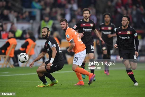 Fussball GER 1 Bundesliga Saison 2016 2017 10 Spieltag vli Oemer Toprak Ömer Toprak Marcel Heller Admir Mehmedi Hakan Calhanoglu