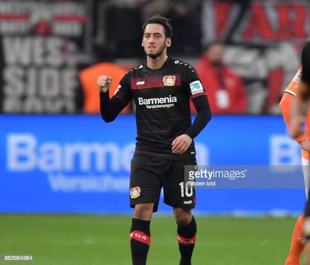 Fussball GER 1 Bundesliga Saison 2016 2017 10 Spieltag Bayer 04 Leverkusen SV Darmstadt 98 Jubel Hakan Calhanoglu
