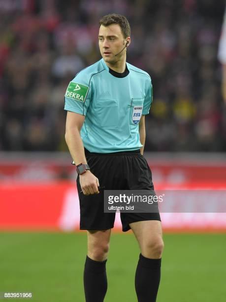 Fussball GER 1 Bundesliga Saison 2016 2017 14 Spieltag Schiedsrichter Felix Zwayer
