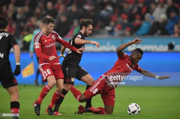 Fussball GER 1 Bundesliga Saison 2016 2017 15 Spieltag Bayer 04 Leverkusen FC Ingolstadt vli Pascal Groß Pascal Gross Hakan Calhanoglu Roger
