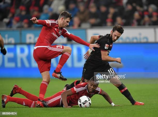 Fussball GER 1 Bundesliga Saison 2016 2017 15 Spieltag Bayer 04 Leverkusen FC Ingolstadt vli Pascal Groß Pascal Gross Roger Hakan Calhanoglu