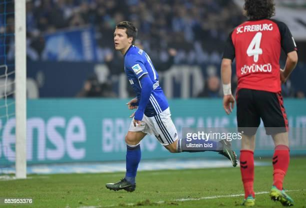Fussball GER 1 Bundesliga Saison 2016 2017 15 Spieltag Jubel Yevhen Konoplyanka