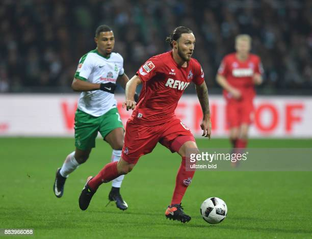 Fussball GER 1 Bundesliga Saison 2016 2017 15 Spieltag Marco Hoeger Marco Höger hinten Serge Gnabry