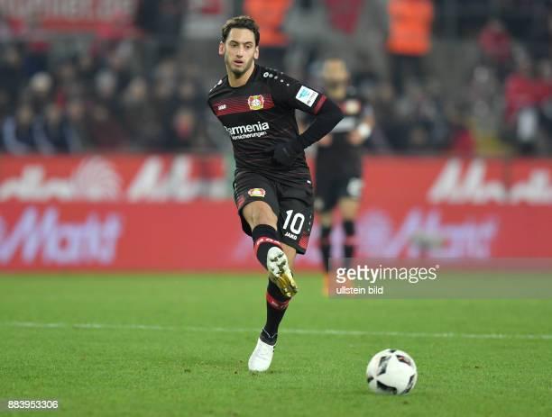 Fussball GER 1 Bundesliga Saison 2016 2017 16 Spieltag Hakan Calhanoglu