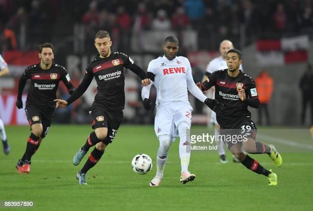 Fussball GER 1 Bundesliga Saison 2016 2017 16 Spieltag vre Benjamin Henrichs Anthony Modeste Vladlen Yurchenko Hakan Calhanoglu