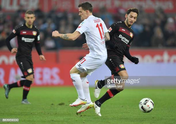 Fussball GER 1 Bundesliga Saison 2016 2017 16 Spieltag Hakan Calhanoglu re gegen Simon Zoller