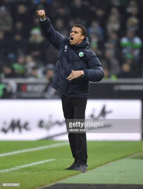 Fussball GER 1 Bundesliga Saison 2016 2017 16 Spieltag Borussia Moenchengladbach VfL Wolfsburg Trainer Valerien Ismael