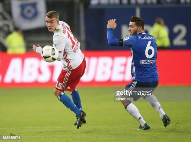 Fussball GER 1 Bundesliga Saison 2016 2017 16 Spieltag Luca Waldschmidt li gegen Sead Kolasinac
