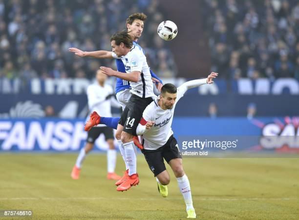 Fussball GER 1 Bundesliga Saison 2016 2017 20 Spieltag vre Vedad Ibisevic Benjamin Stambouli Valentin Stocker