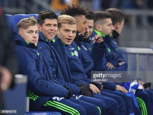 Fussball GER 1 Bundesliga Saison 2016 2017 20 Spieltag vli Max Meyer KlaasJan Huntelaar Klaas Jan Huntelaar Johannes Geis Thilo Kehrer Yevhen...