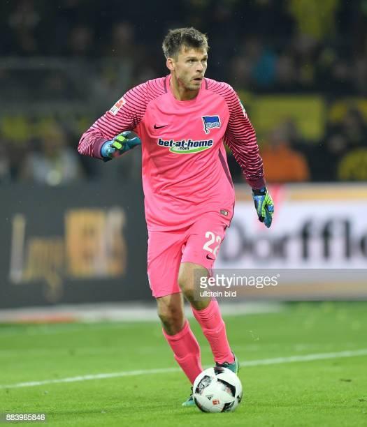 Fussball GER 1 Bundesliga Saison 2016 2017 7 Spieltag Torwart Rune Jarstein