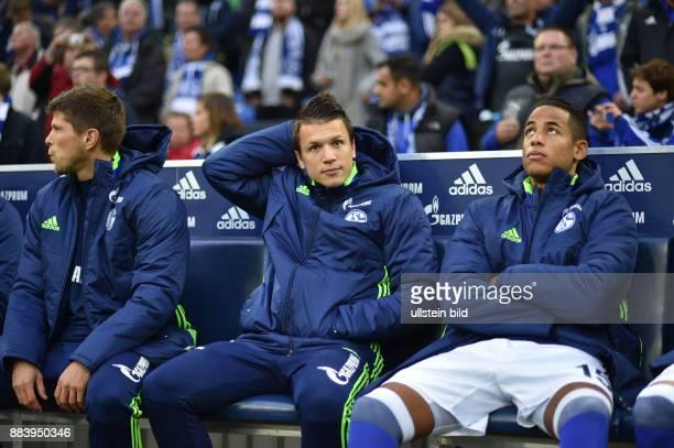 Fussball GER 1 Bundesliga Saison 2016 2017 8 Spieltag vli KlaasJan Huntelaar Klaas Jan Huntelaar Yevhen Konoplyanka Dennis Aogo