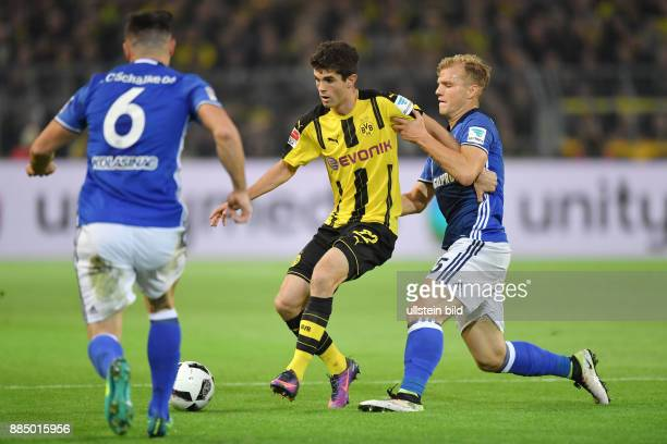 Fussball GER 1 Bundesliga Saison 2016 2017 9 Spieltag vre Johannes Geis Christian Pulisic Sead Kolasinac