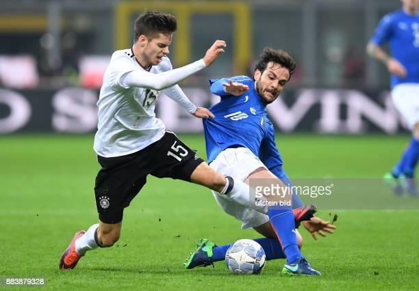 Fussball International Testspiel in Mailand Italien Deutschland Julian Weigl gegen Roberto Gagliardini