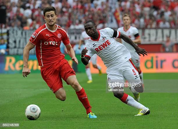Fussball Saison 20132014 2 Bundesliga 2 Spieltag 1 FC Köln Fortuna Düsseldorf 11 vli Dustin Bomheuer Anthony Ujah