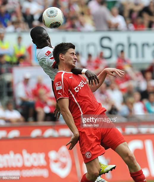 Fussball Saison 20132014 2 Bundesliga 2 Spieltag 1 FC Köln Fortuna Düsseldorf 11 vli Anthony Ujah Dustin Bomheuer