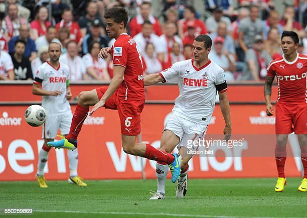 Fussball Saison 20132014 2 Bundesliga 2 Spieltag 1 FC Köln Fortuna Düsseldorf 11 vli Dustin Bomheuer Thomas Bröker