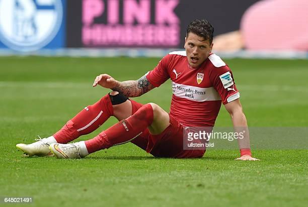Fussball Saison 2014/15 1 Bundesliga 31 SpieltagFC Schalke 04 VfB Stuttgart 32Daniel Ginczek