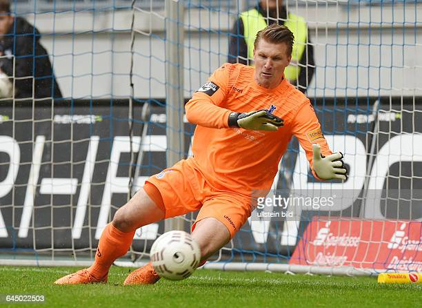 Fussball Saison 2014/15 3 Liga 35 SpieltagMSV Duisburg Preussen MünsterTorwart Michael Ratajczak