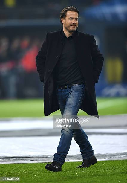 Fussball Saison 2014/15 Champions League 2014/15 AchtelfinaleBorussia Dortmund Juventus Turin 03Ex BVB Profi Lars Ricken