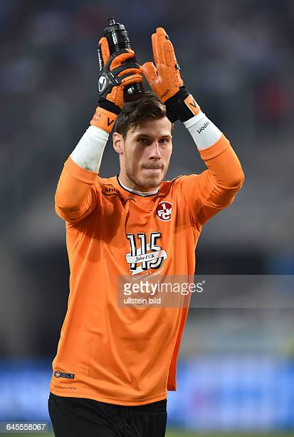 Fussball Saison 2015/2016 2 Bundesliga 1 SpieltagMSV Duisburg 1 FC Kaiserslautern 13Torwart Marius Müller