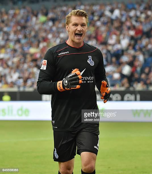 Fussball Saison 2015/2016 2 Bundesliga 1 SpieltagMSV Duisburg 1 FC Kaiserslautern 13Torwart Michael Ratajczak