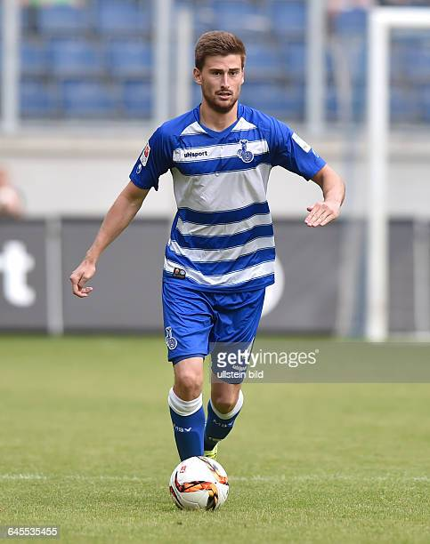 Fussball Saison 2015/2016 2 Bundesliga VorbereitungsspielMSV Duisburg FC Porto 02Dustin Bomheuer
