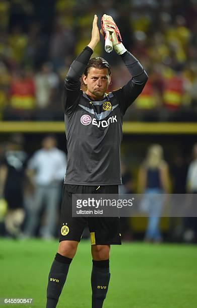 Fussball Saison 2015/2016 Europa League Qualifikation 3 RundeBorussia Dortmund Wolfsberger AC 50Torwart Roman Weidenfeller