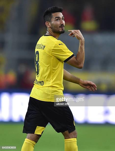 Fussball Saison 2015/2016 Europa League Qualifikation 3 RundeBorussia Dortmund Wolfsberger AC 50Ilkay Guendogan Ilkay Gündogan
