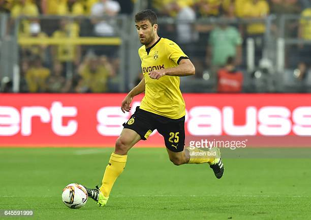 Fussball Saison 2015/2016 Europa League Qualifikation 3 RundeBorussia Dortmund Wolfsberger AC 50Sokratis