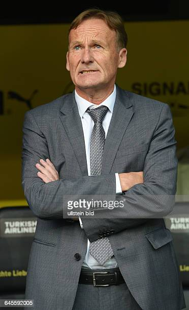 Fussball Saison 2015/2016 Europa League Qualifikation 3 RundeBorussia Dortmund Wolfsberger AC 50Geschaeftsfuehrer HansJoachim Watzke