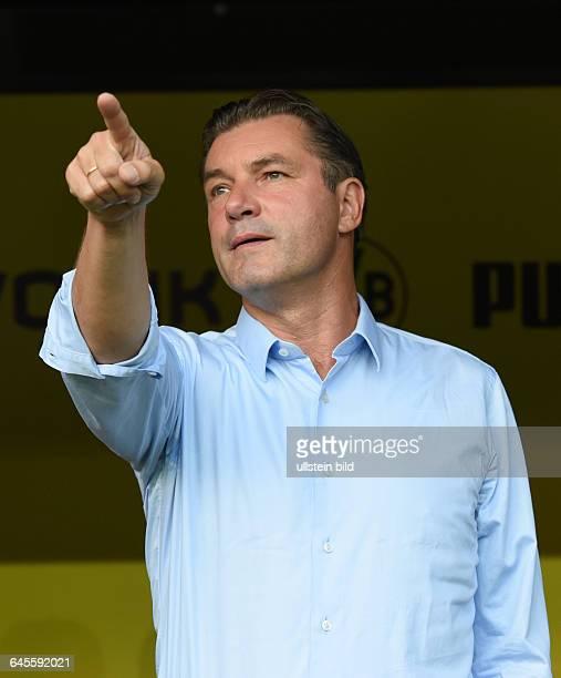 Fussball Saison 2015/2016 Europa League Qualifikation 3 RundeBorussia Dortmund Wolfsberger AC 50Manager Michael Zorc