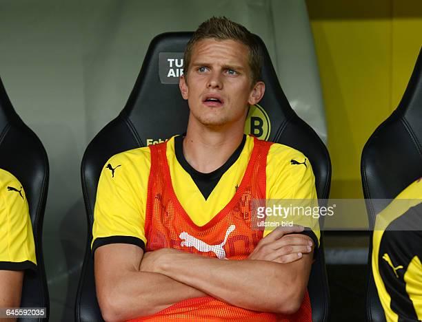 Fussball Saison 2015/2016 Europa League Qualifikation 3 RundeBorussia Dortmund Wolfsberger AC 50Sven Bender