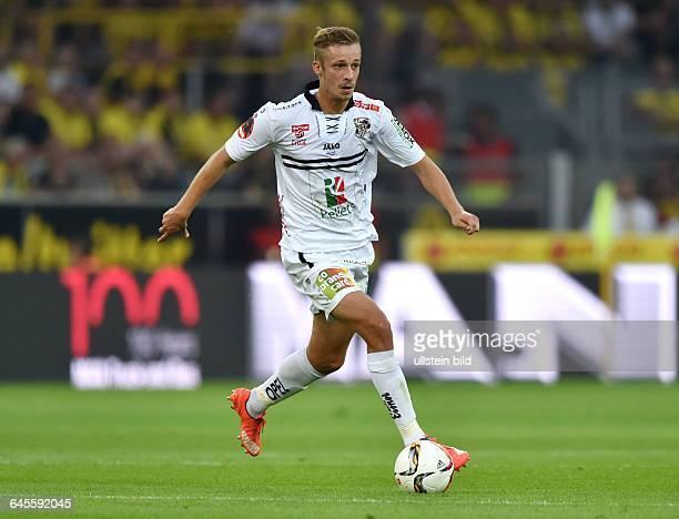 Fussball Saison 2015/2016 Europa League Qualifikation 3 RundeBorussia Dortmund Wolfsberger AC 50Michael Berger