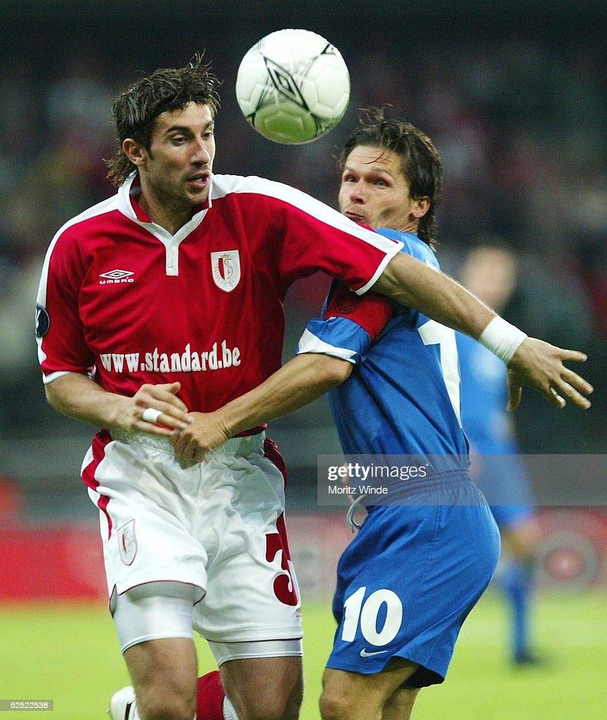 Fussball UEFA Pokal 04/05 Luettich Standard Luettich VfL Bochum 00 Ivica DRAGOTINOVIC / Luettich Dariusz WOSZ / Bochum 160904