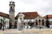 Fussball Vorschau auf die EM 2004 in Portugal Coimbra Stadtfeature Via Latina der Universitaet sie fuehrt in den grossen Pruefungssaal 290304