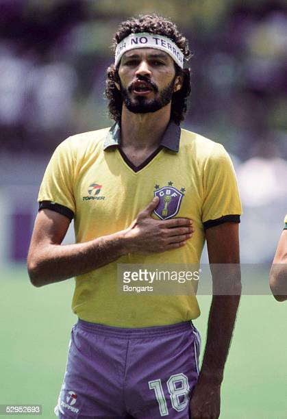 WM 1986 in Mexiko SOCRATES / BRA FotoBONGARTS