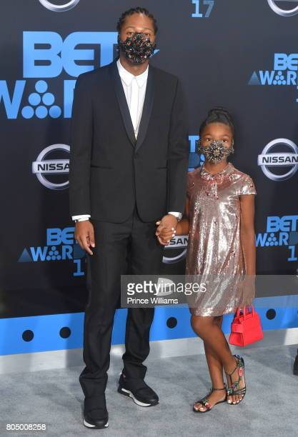 Future and his Daughter Londyn Wilburn attend the 2017 BET Awards at Microsoft Theater on June 25 2017 in Los Angeles California