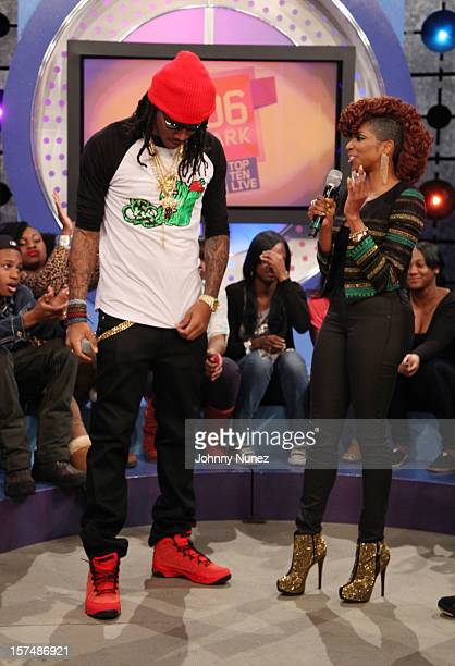 Future and Miss Mykie attend 106 Park Studio on December 3 2012 in New York City