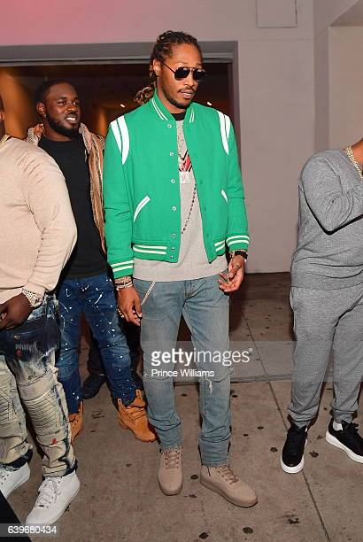 Future attends a Party at compound Nightclub on January 22 2017 in Atlanta Georgia
