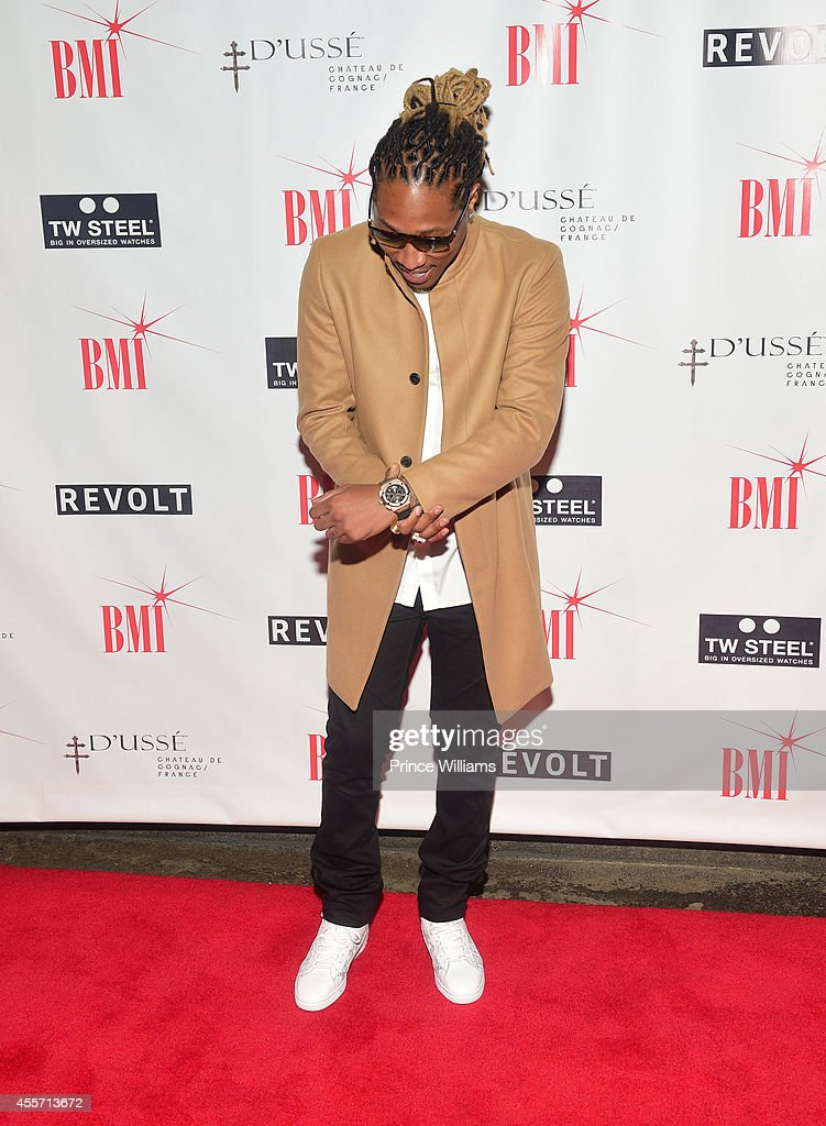 Future attends BMI dinner honoring Future at 10 degrees South Restaurant on September 18 2014 in Atlanta Georgia